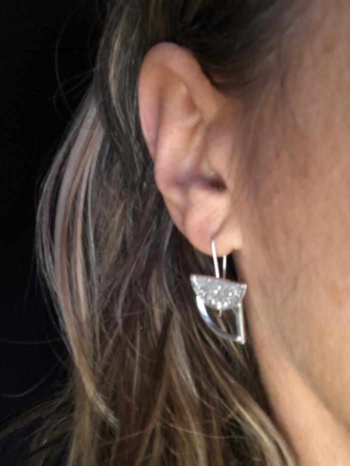 Boucles d'oreilles C. Plomteux
