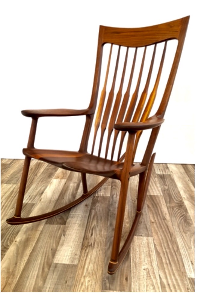Chaise berçante P. Foley