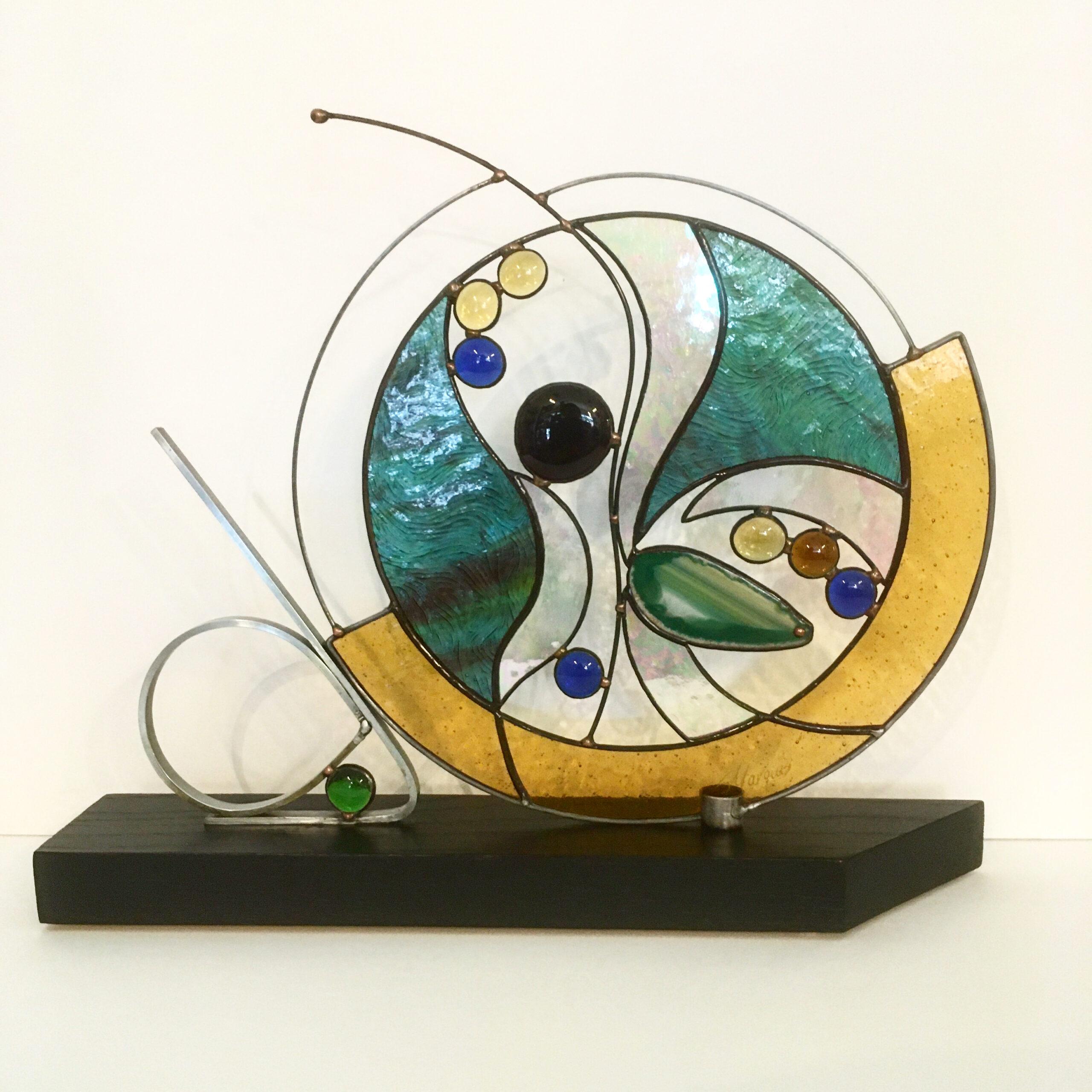 sculpture vitrail Marquis
