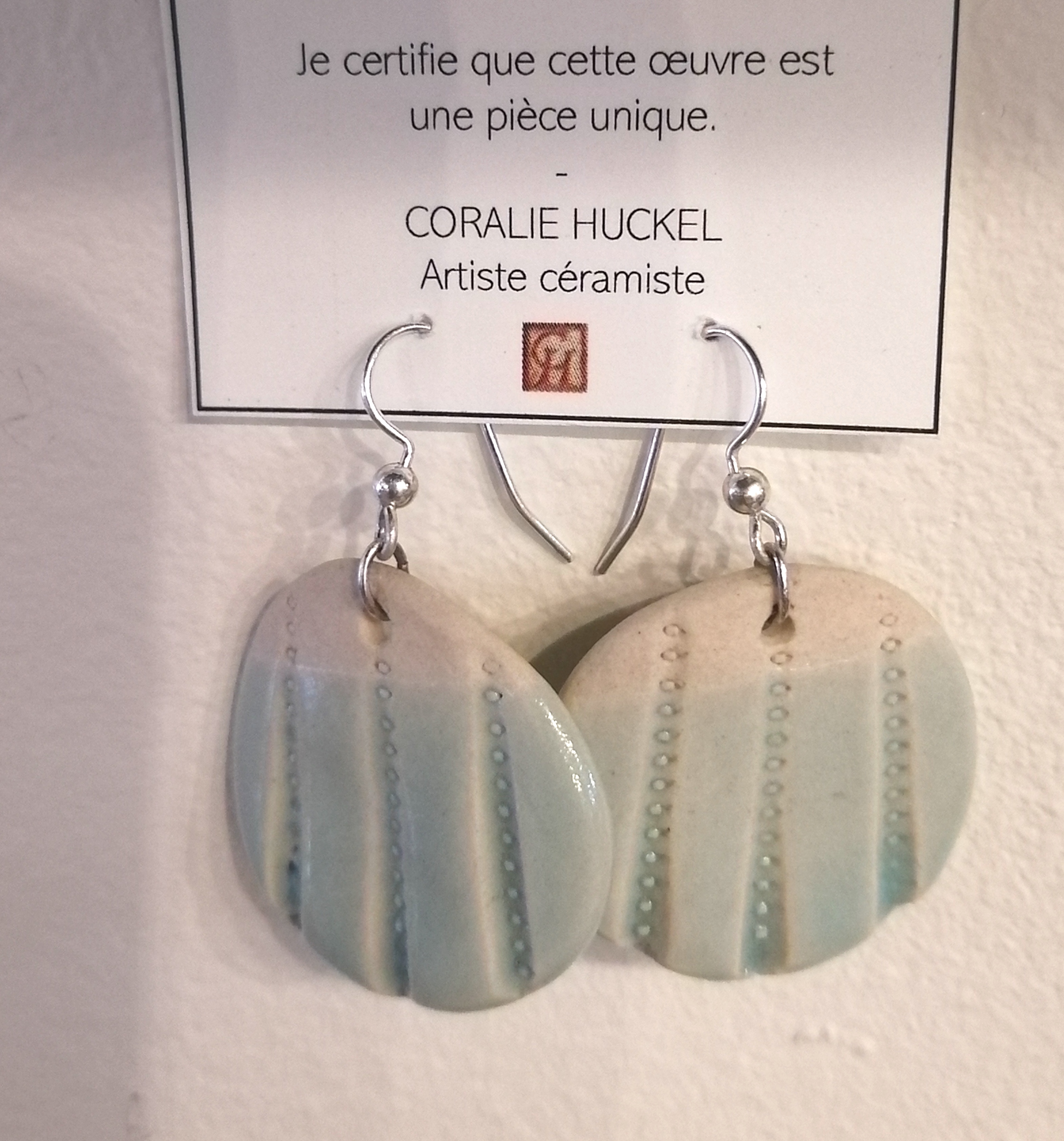 #30 B.Oreilles rondes Coll Turquoise