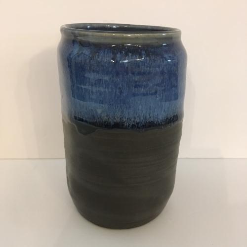 Vase oval saphir Coralie